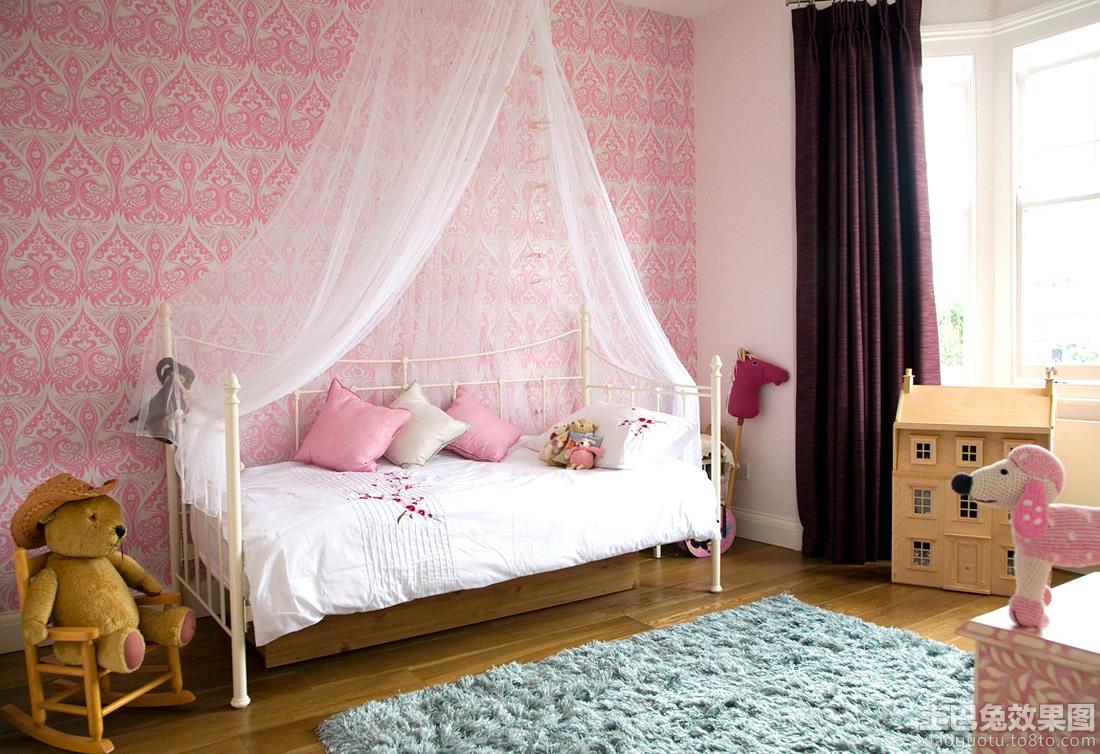 公主房床幔装修效果图