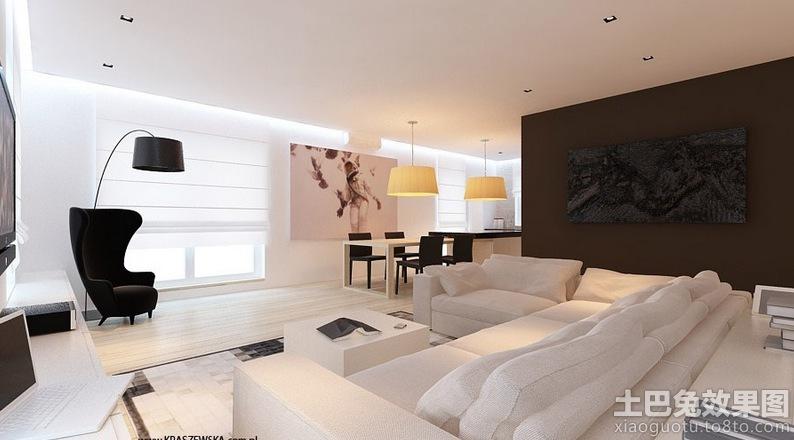 大客廳沙發設計效果圖