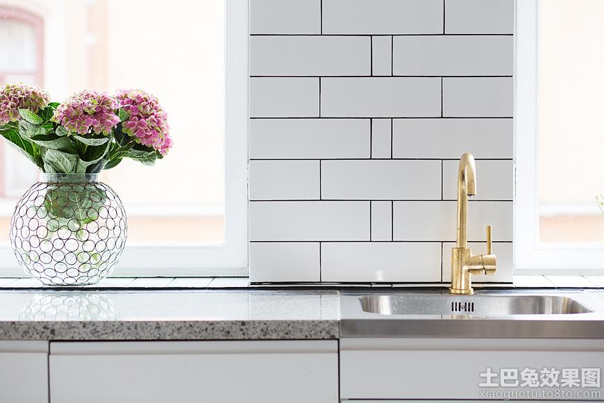 北欧风格厨房墙面瓷砖图片