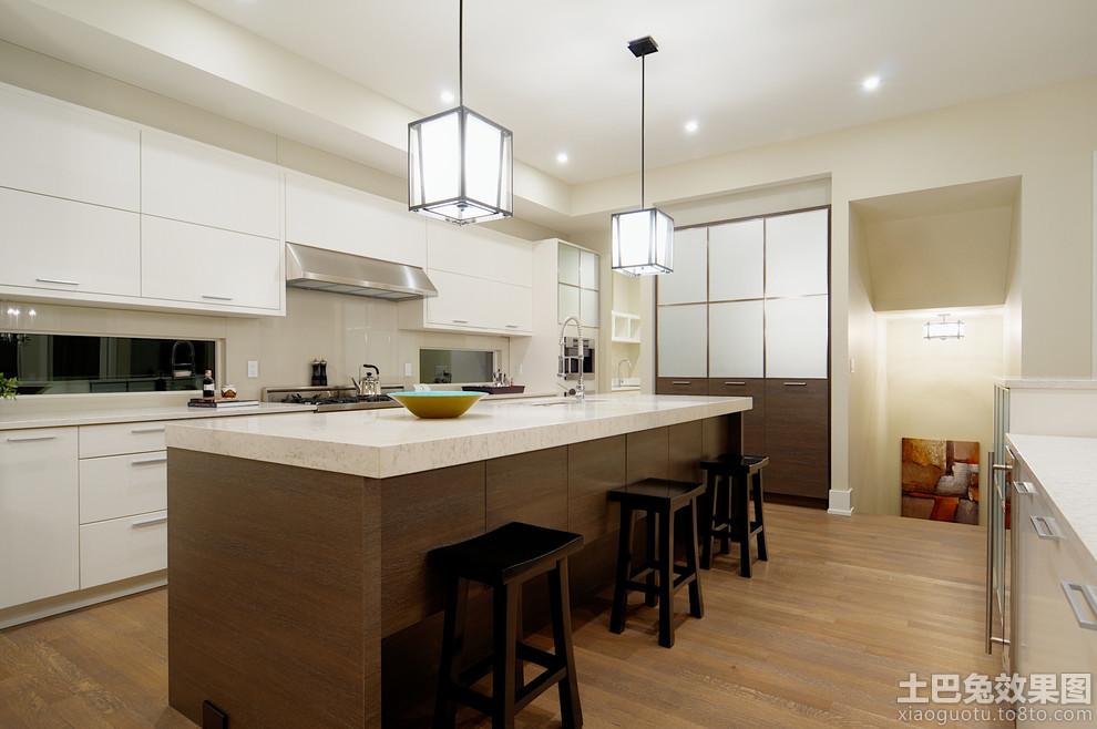 敞开式厨房装修效果图欣赏高清图片