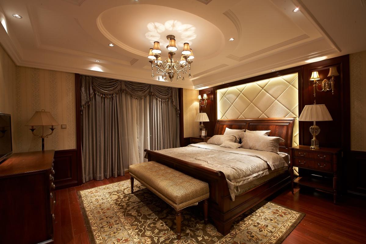 卧室圆形吊顶装修效果图欣赏
