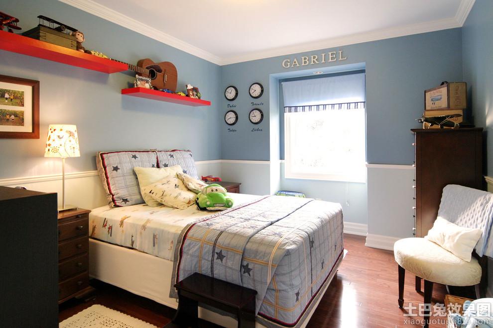 男生房间布置图片欣赏