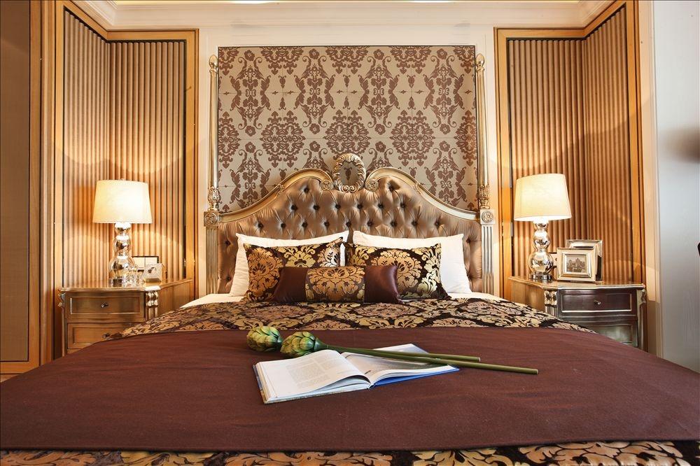 卧室欧式壁纸效果图 - 九正家居装修效果图图片