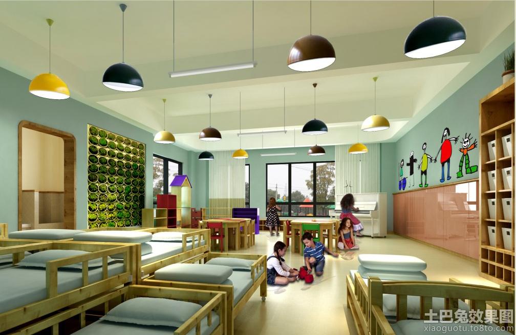 现代幼儿园教室布置图片 - 九正家居装修效果图