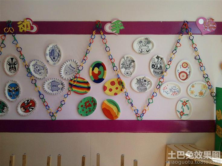 幼儿园中班主题墙面设计效果图