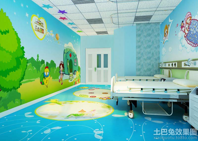 幼儿园室内手绘墙效果图