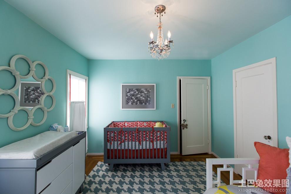 儿童房室内墙面漆颜色效果图高清图片