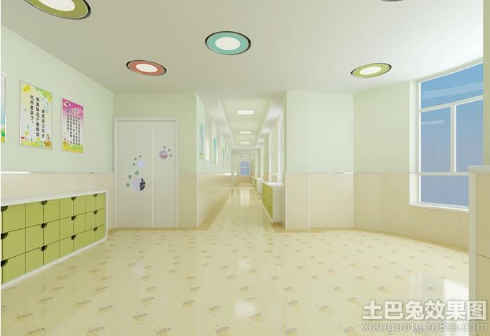 幼儿园大厅装修设计图片