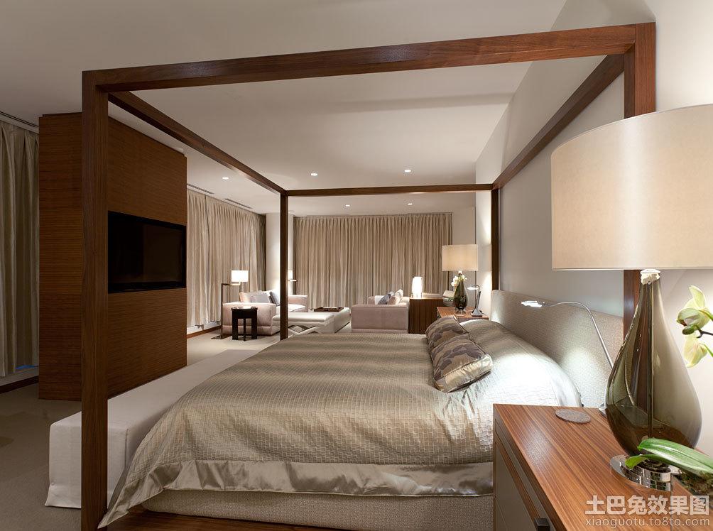 现代简欧卧室装修图片