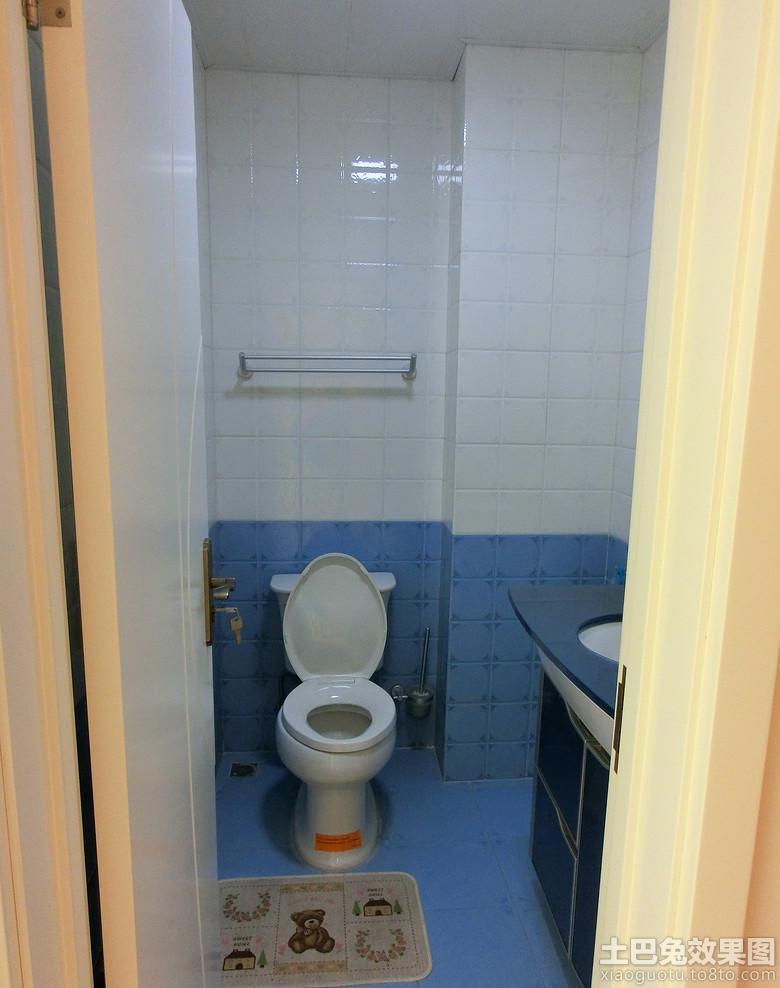 小面积卫生间内墙瓷砖效果图高清图片