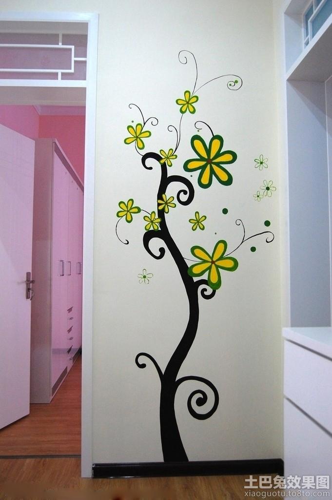 家居手绘墙画图片大全