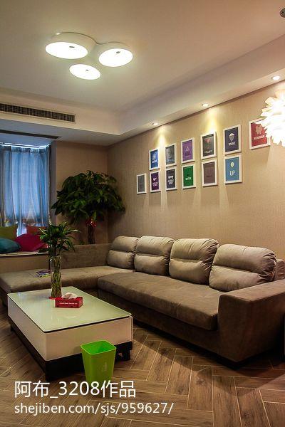 小户型客厅沙发摆放效果图图片