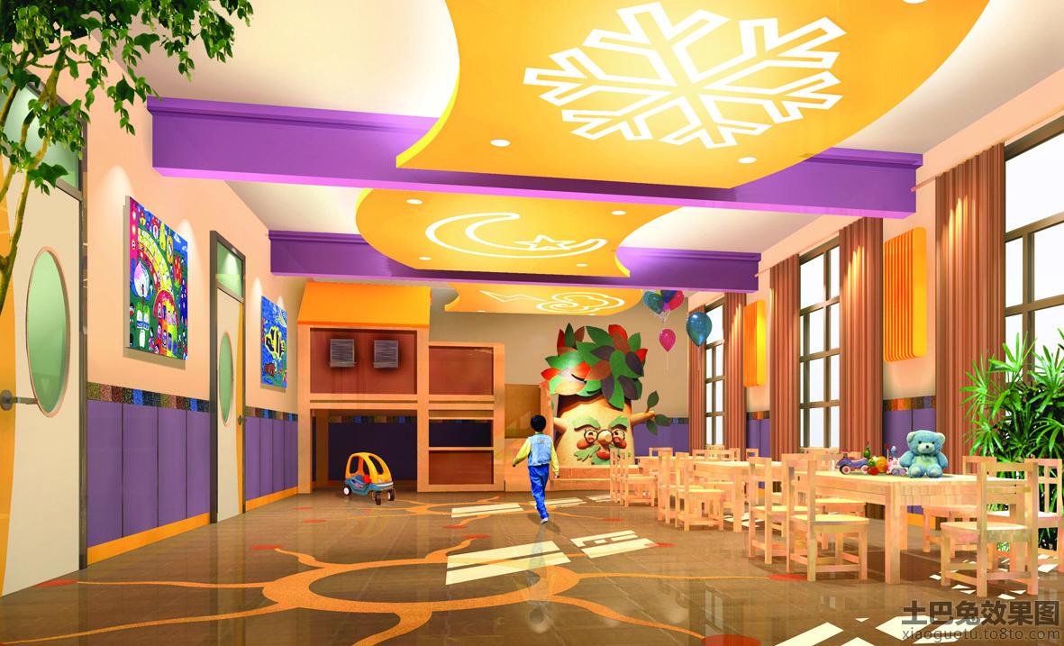 北京蓝天幼儿园室内装饰图片大全