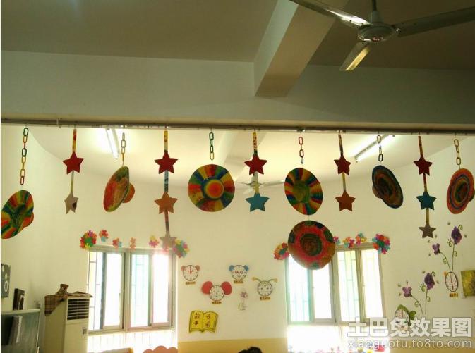 幼儿园教室装饰图片欣赏