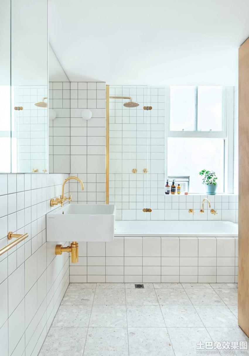 日式风格瓷砖浴室卫生间效果图