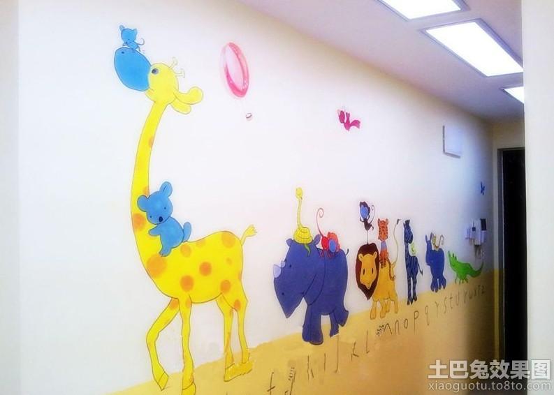 幼儿园手绘壁画图片大全