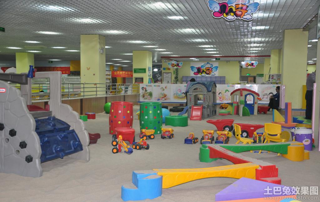 幼儿园儿童游乐场效果图欣赏