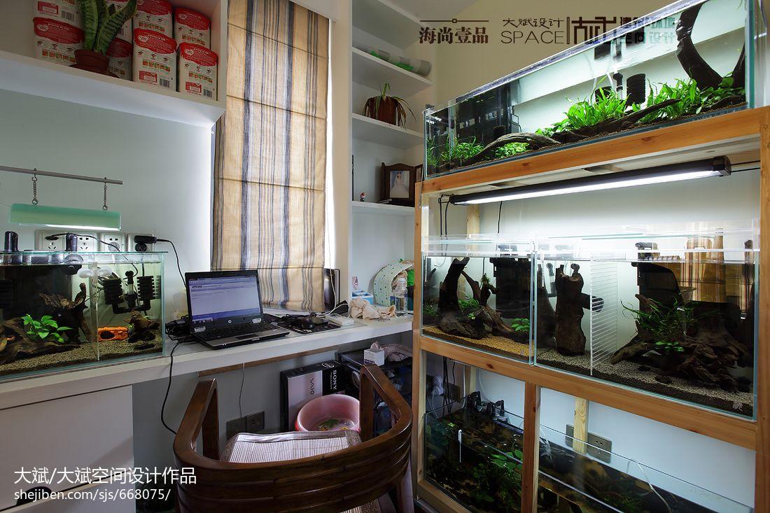 室内生态鱼缸设计