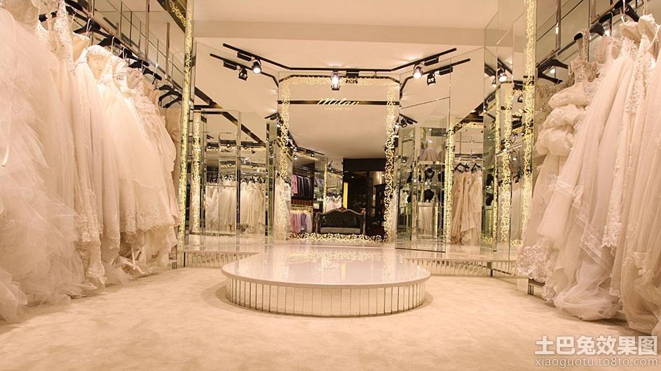最新婚纱店装修图
