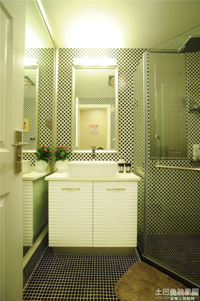 家居洗手间装修效果图大全2013图片