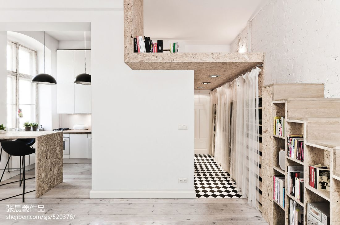 北欧房子楼梯装修效果图