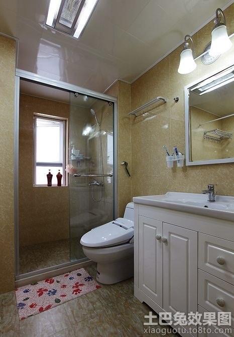 长方形卫生间装修设计
