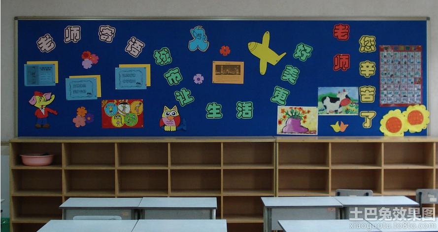 幼儿园中班教室墙面布置设计