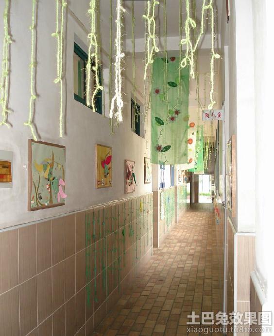 幼儿园中班走廊环境布置
