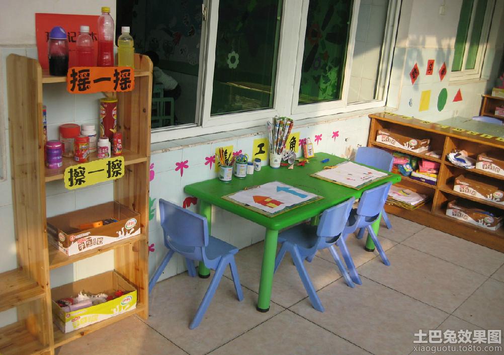 幼儿园大班教室环境布置