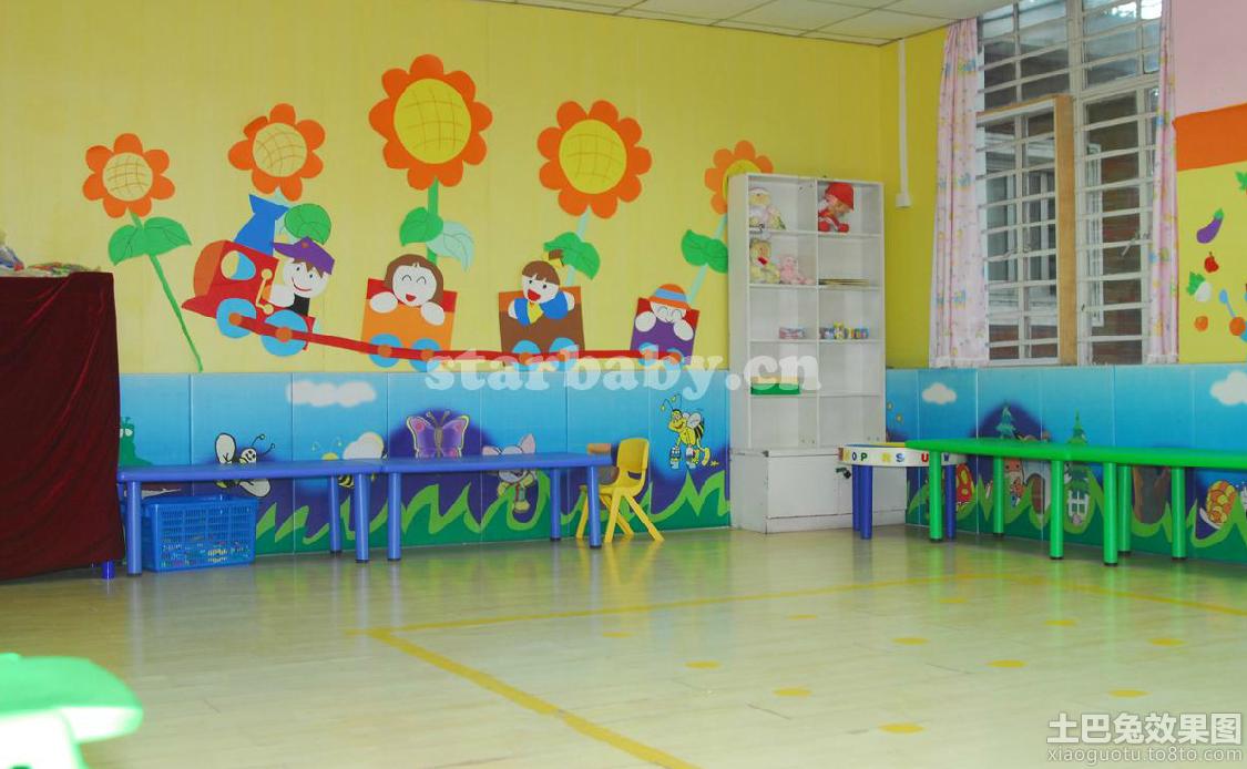 幼儿园小班环境布置图片图片