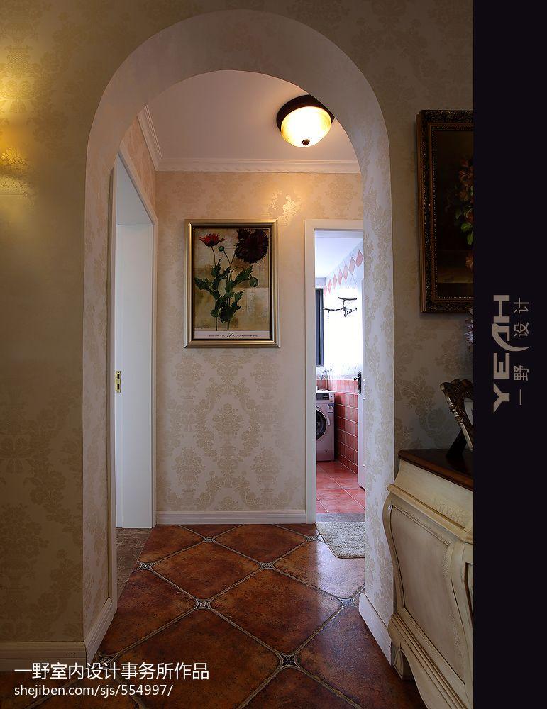 欧式拱门效果图_过道拱门设计,室内过道圆拱门图片,欧式拱门过道_大山谷图库