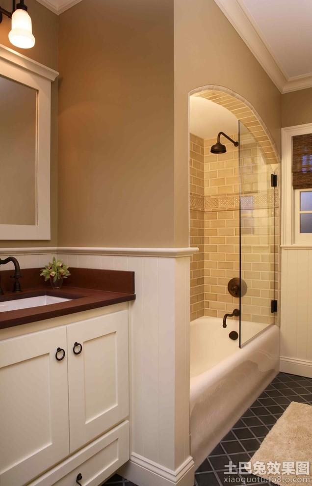小型卫生间浴室装修效果图