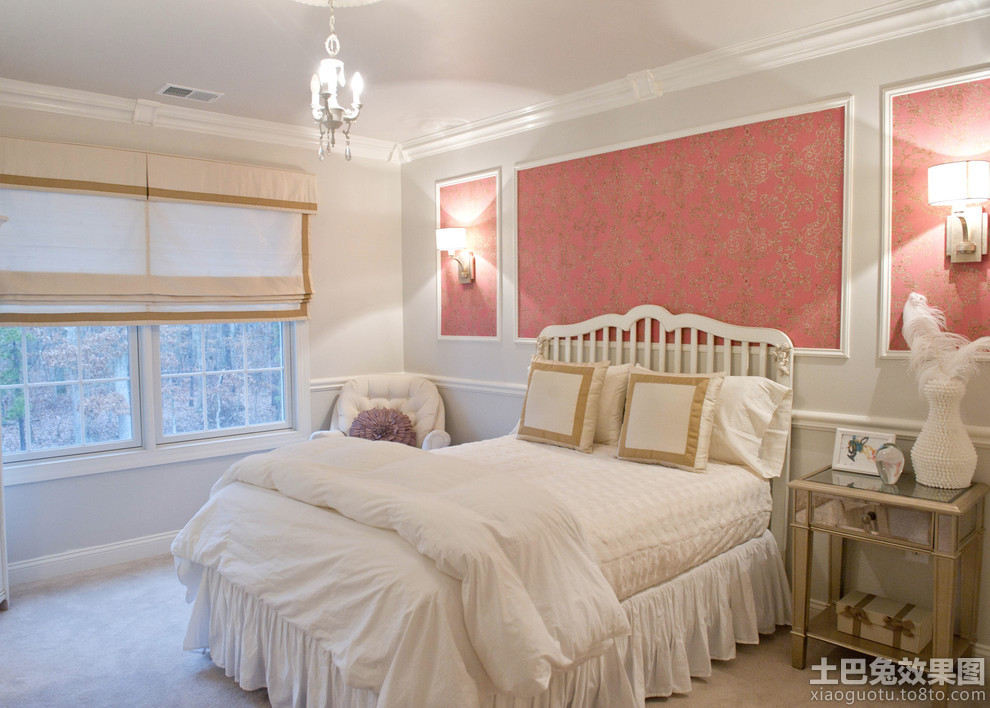 最新卧室床头背景墙效果图片