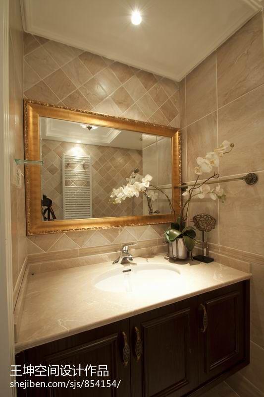 洗手间瓷砖效果图 - 装修效果图