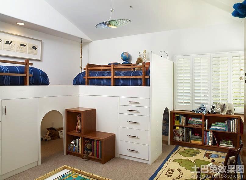 创意儿童房设计装修效果图 - 装修效果图 - 九正家居网