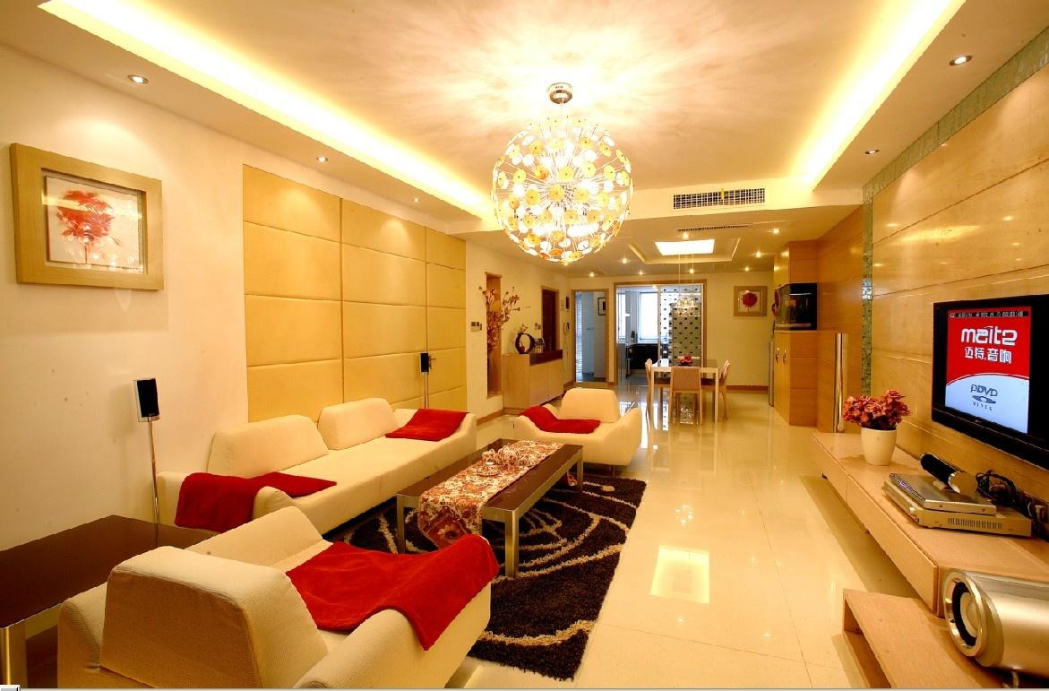 120房子客厅装修设计图 - 装修效果图 - 九正家居网