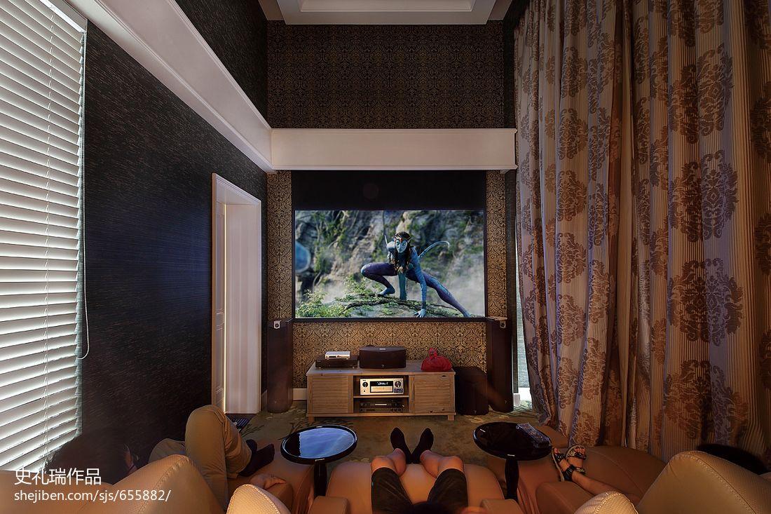 2013客厅影视墙装修效果图欣赏
