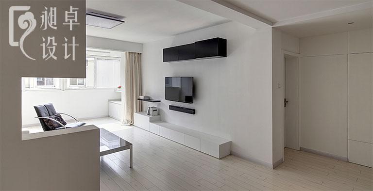 简单电视背景墙设计图片
