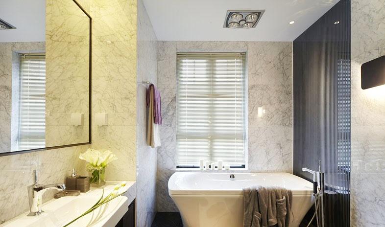 现代卫生间墙壁瓷砖装修效果图