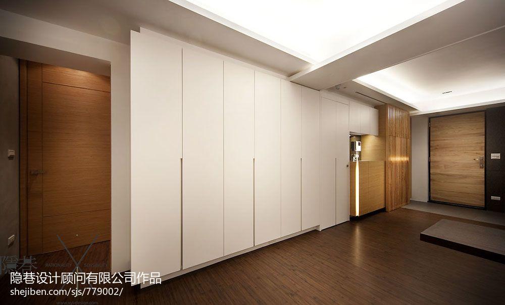 入户玄关柜子设计图 - 装修效果图 - 九正家居网