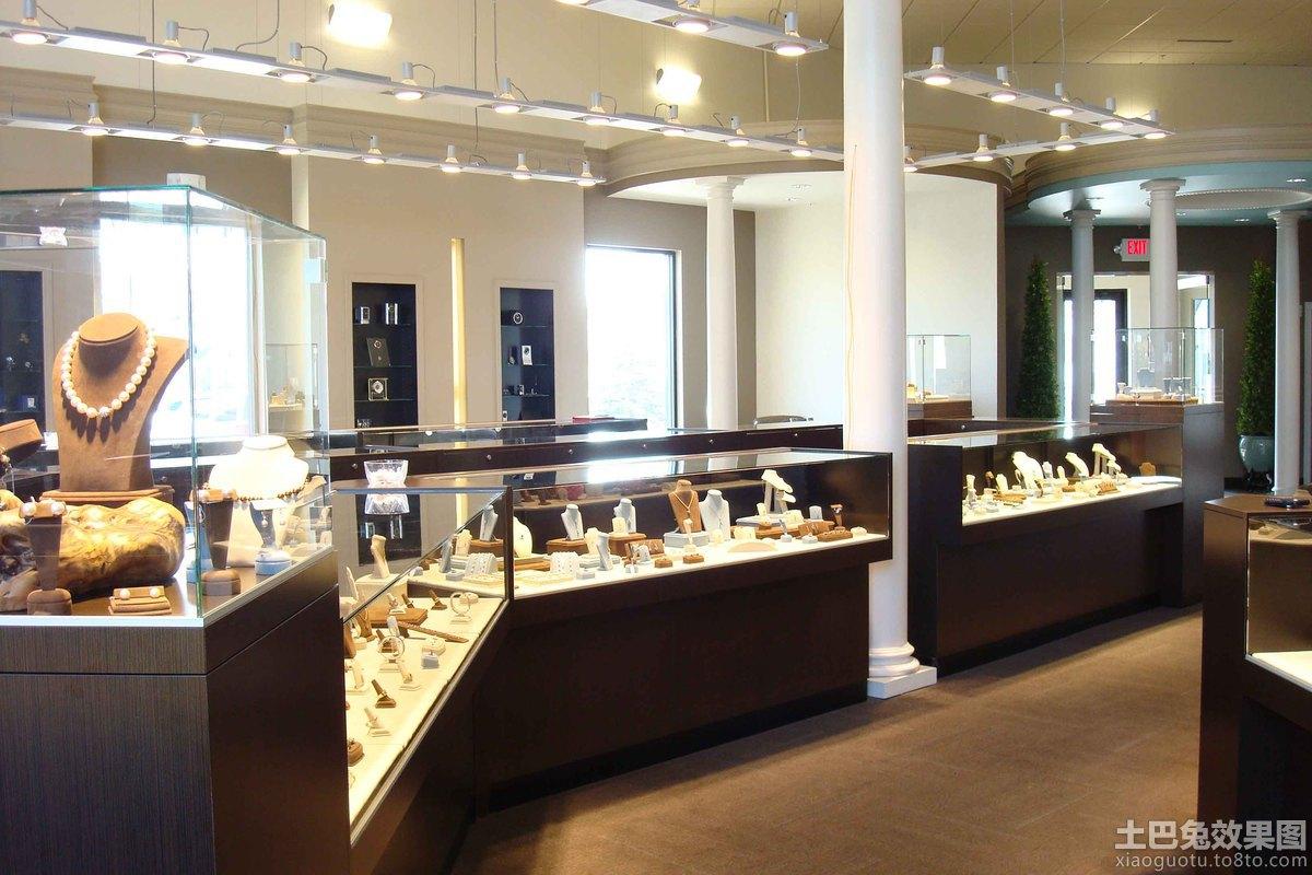 珠宝店柜台装修效果图