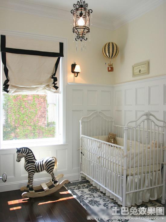 欧式风格婴儿房间布置图片