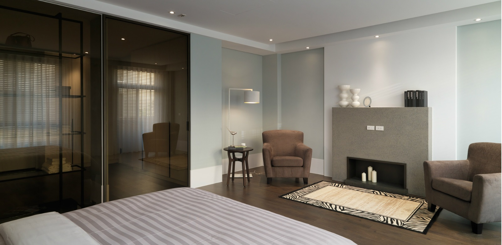 简约大卧室设计效果图