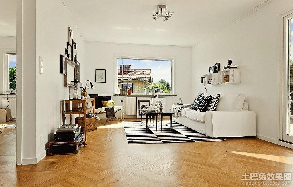 瑞典北欧风格房子客厅装修效果图