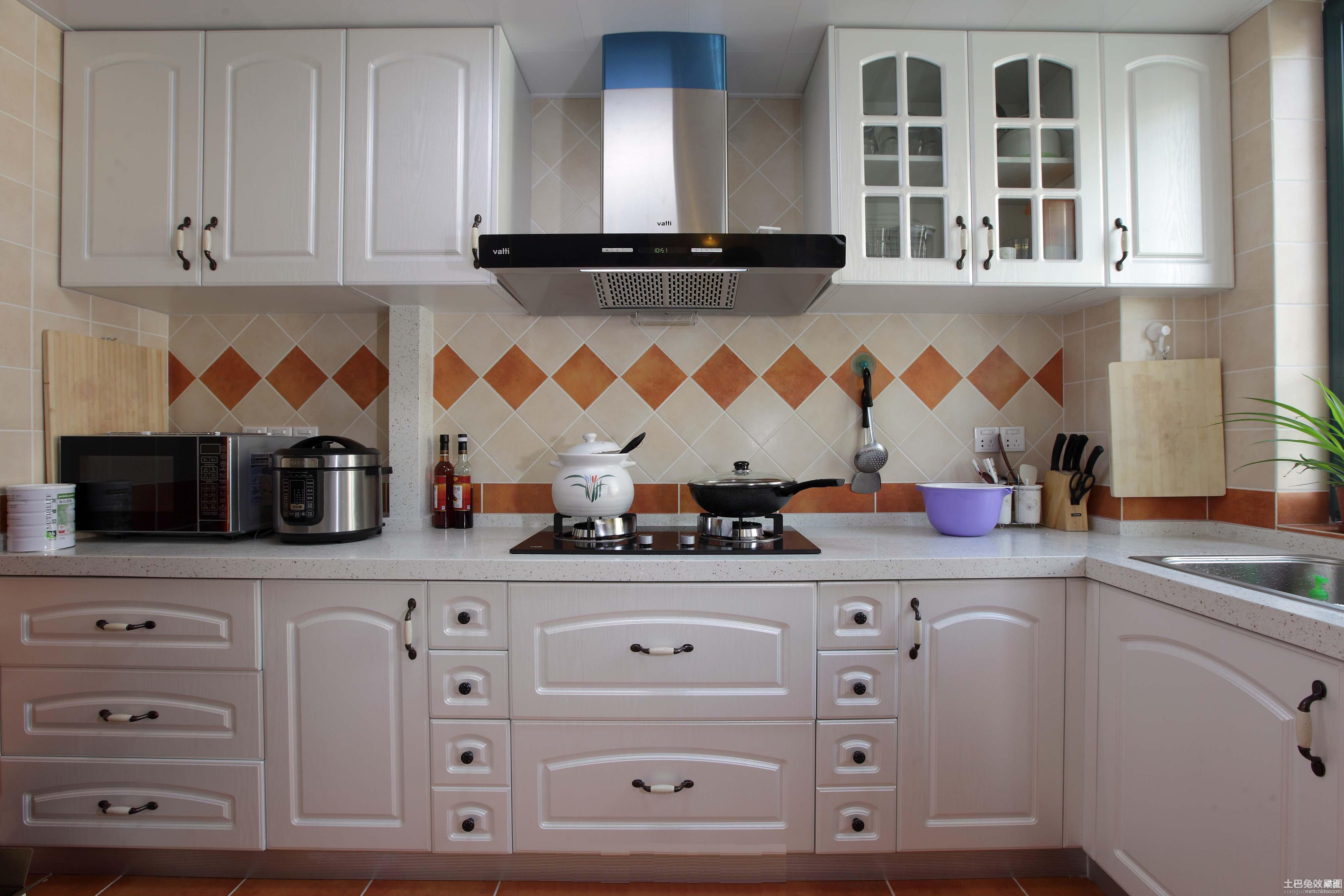 厨房欧式橱柜设计图