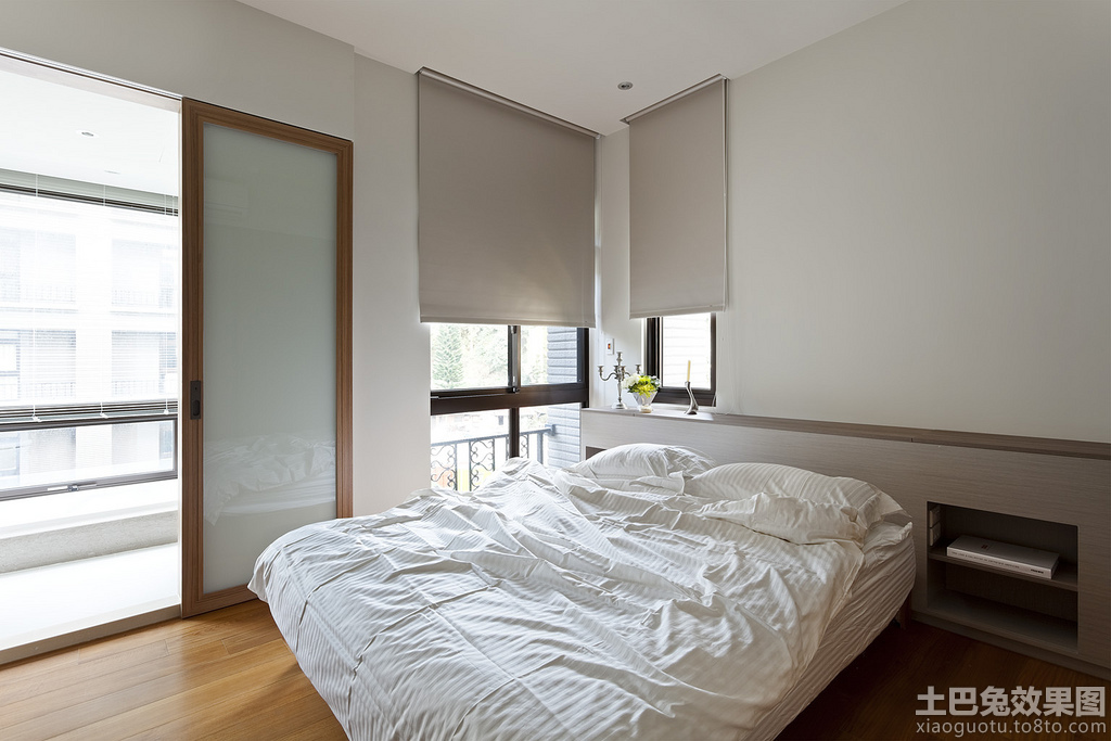 极简主义卧室设计效果图