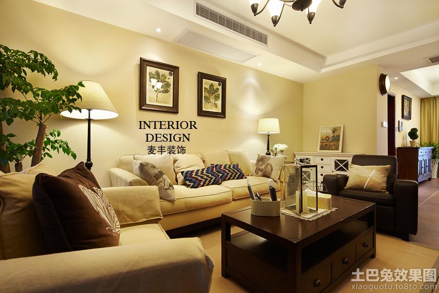 简美式客厅装修效果图大全2013图片高清图片