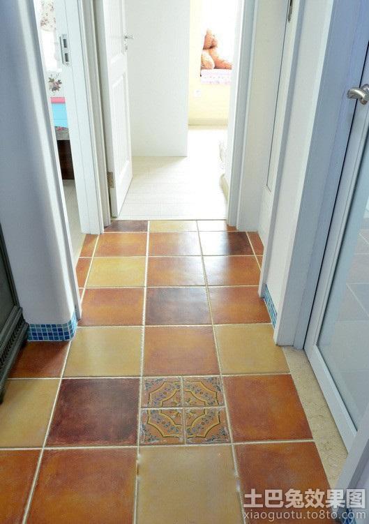 过道地板砖拼花效果图高清图片