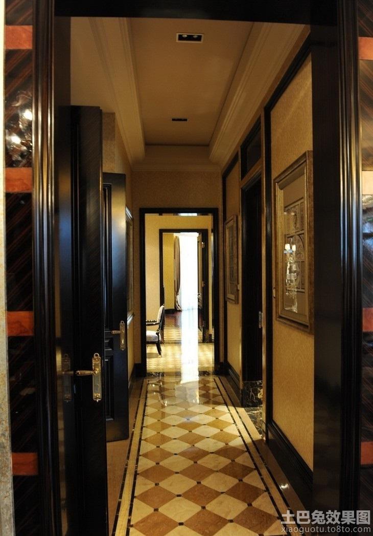 房屋过道地板砖装修效果图高清图片