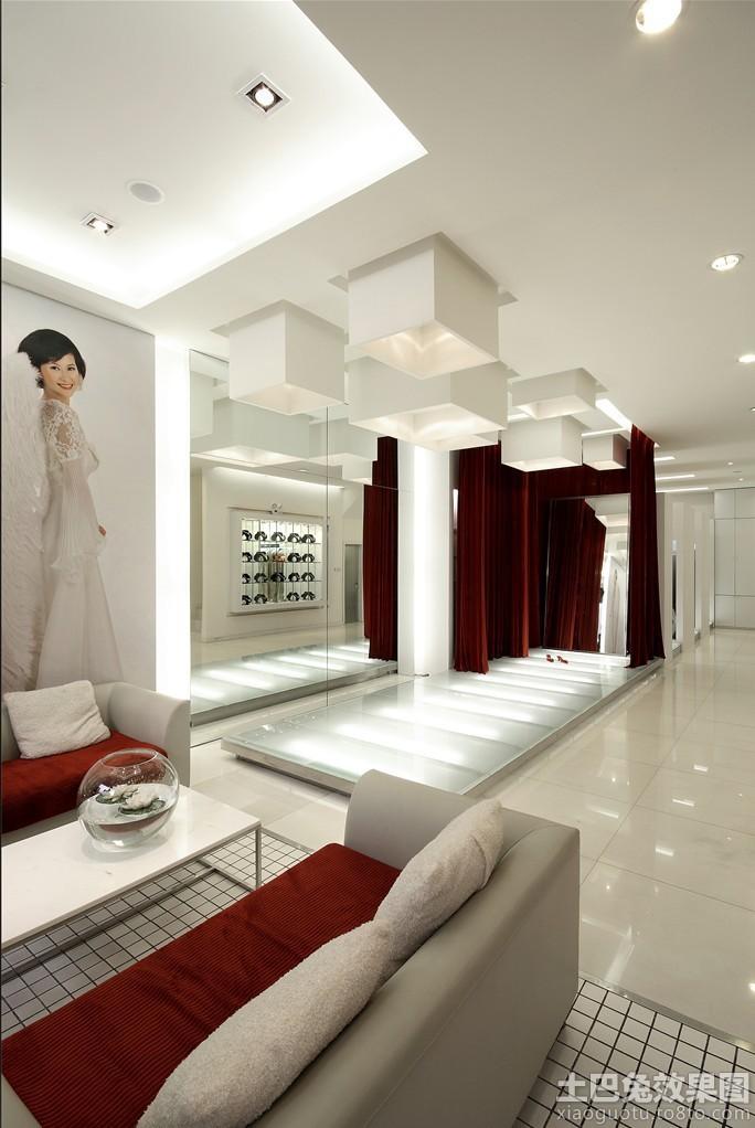 现代婚纱店装修效果图高清图片
